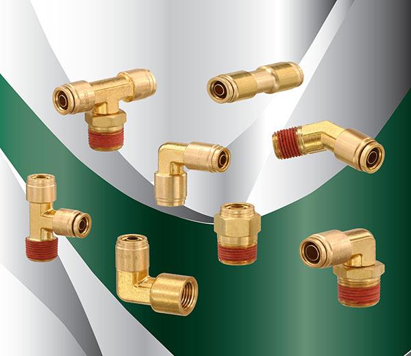 D O T  Brass Push-In Fittings | Polyconn