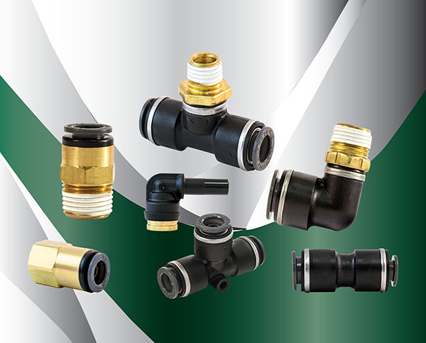 D O T  Composite Push-In Fittings | Polyconn
